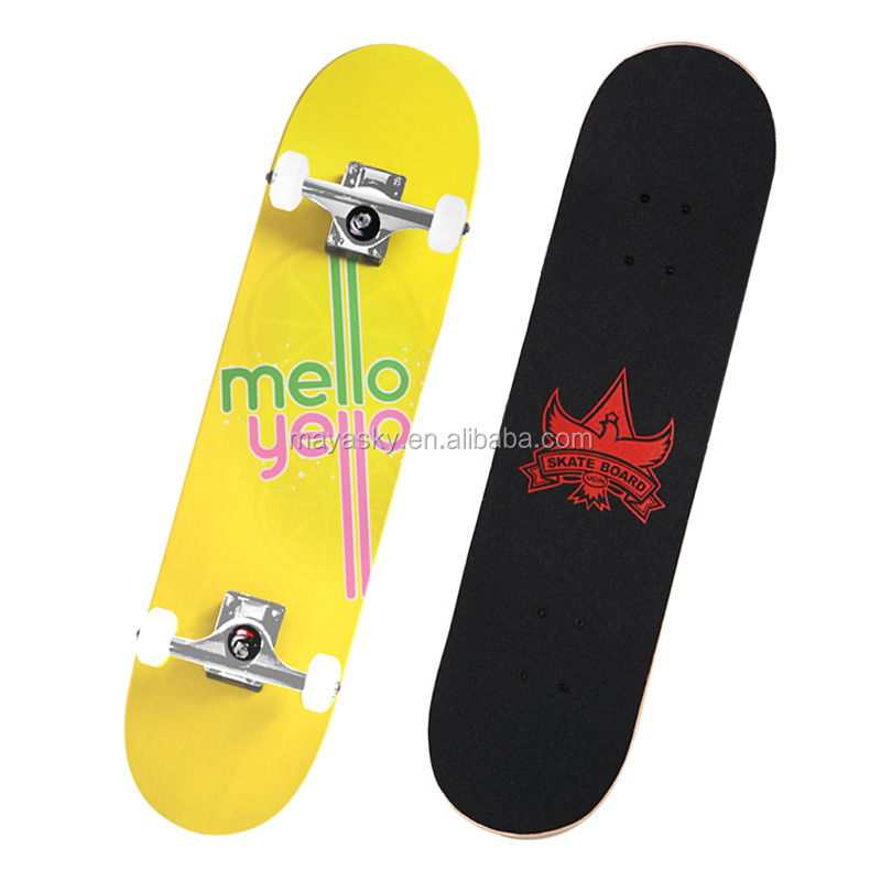 Best selling completa Rússia maple skate completo skate deck