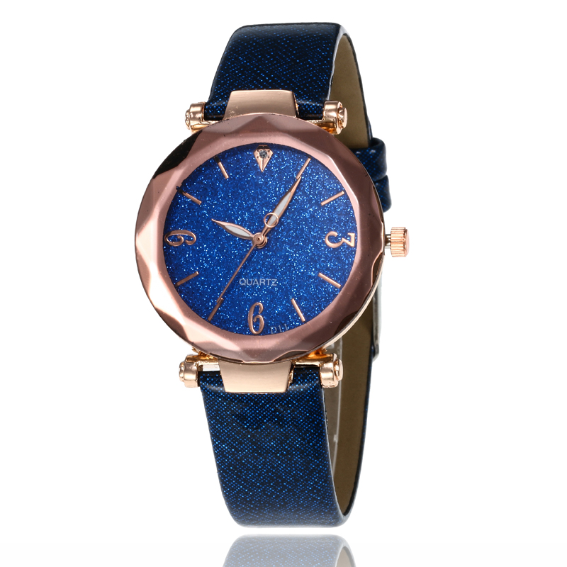 WJ-7781 Beautiful Bling Bling Glitter Leather Strap Hours Top Sale Made In China Student Watches Factory Direct Girls Watch, Mix