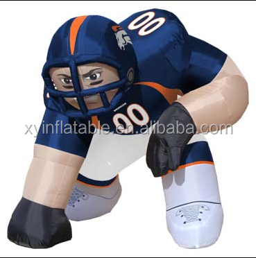 denver broncos inflatable bubba player