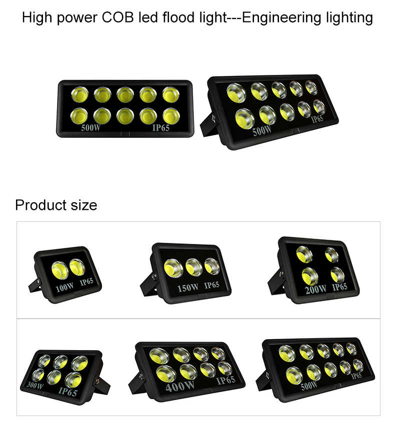 Ningbo Epes Tahan Air Outdoor IP66 100 W 150 W 200 W 300 W 400 W 500 W 600 W LED lampu Sorot