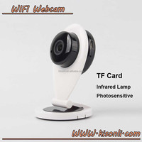 High Quality 720P HD IP Camera WiFi Wireless TF Card Storage Night Vision Network Security CCTV