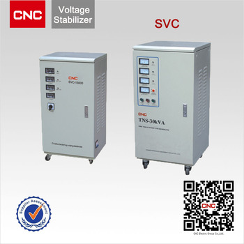 Svc 30kva 3 Phase Automatic Voltage Stabilizer Buy 3