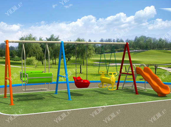 Swing Chair And Slide Combination