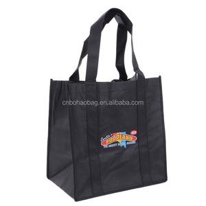 customized cheap nonwoven bag recyclable shopping sac