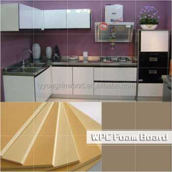 wpc non smell and high smoothness firerpoof furiniture board kitchen