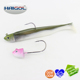 Floating soft fishing lure soft bait jig head hook soft bait