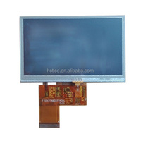 4.3 inch Innolux innolux lcd screen with touch panel 480x 272
