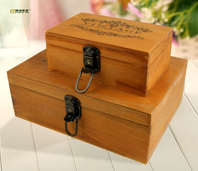 Large New Wooden Storage Box Diy Crates Toy Boxes Set: Popular Wooden Toy Box Patterns-Buy Cheap Wooden Toy Box