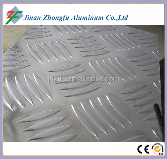 5 Bar Aluminum Skid Plate Sheet For Bus Or Floor