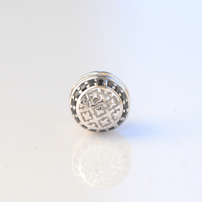 Miss Jewelry micro pave cz beads and charms for paracord bracelets