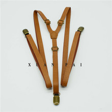 Customized 1.35cm suspender for adult with 3 bronze metal clips wedding usage