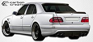 2000-2002 Mercedes E Class W210 Carbon Creations Morello Edition Rear Bumper Cover - 1 Piece