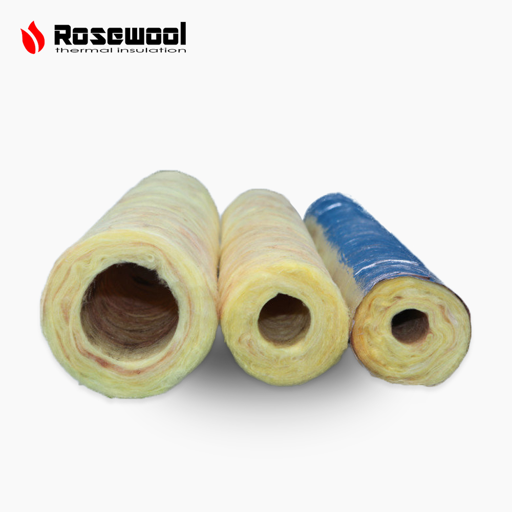 JDWOOL heat insulation rock wool cubes pipe cover