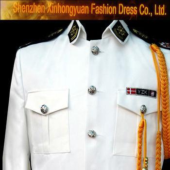 Custom White Uniform For Marching Band - Buy Uniform For Marching Band,Band  Uniforms For Sale,High School Marching Band Uniforms Product on