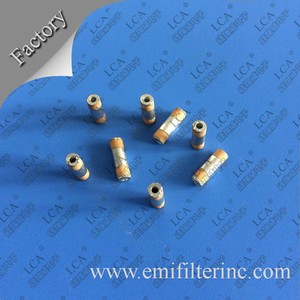 High Voltage Tin plated Tubular Ceramic Capacitor
