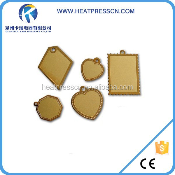 Top Quality Fashion metal <strong>pendant</strong> For Sublimation