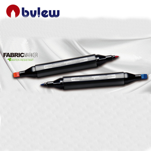 high quality twin tip permanent textile marker pen for T-shirt