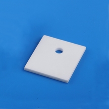 High hardness Electrical 95% Al2O3 alumina ceramic insulator heat sink