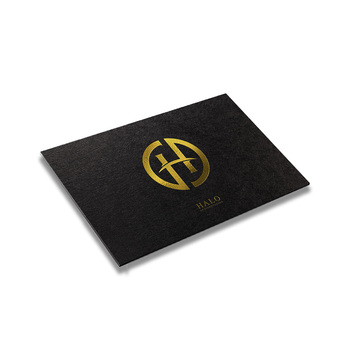 Top Graded High End Thick Paper Gold Foil Stamping Business Cards