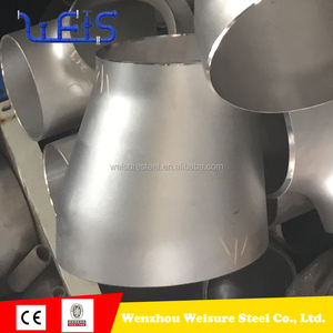 ASTM A403 stainless steel BW pipe fitting seamless concentric/eccentric reducer