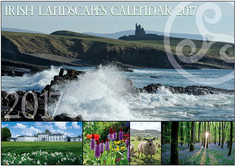 Irish Landscape wall Calendar 2017 - Made in Ireland