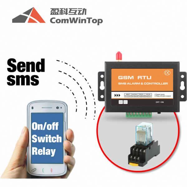 Gsm Remote Controller Support Sms New Version 6 Relay Output And 6 Alarm Input 3g Dial To Control Battery For Power Off Alert