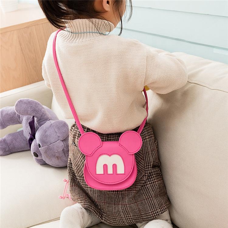 Heopono Professional Manufacturer Small Children Kids Crossbody Mini Fashion Pocket Cute Girls Satchel Bag
