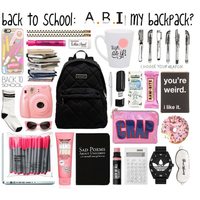 2018 OEM Custom design fashion back to school supplies for school