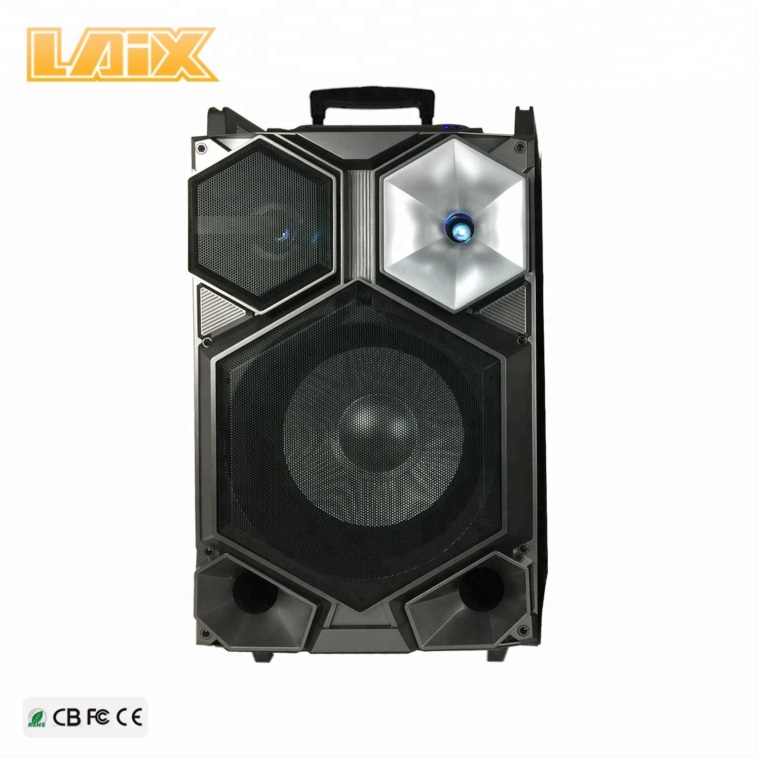 9d328ccde P audio 12 inch dolphin mega sound speaker price with max professional  speaker system microphone