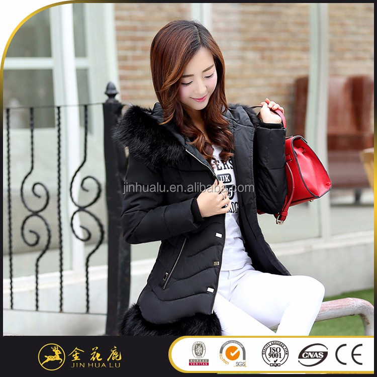 Factory supplies 8016 118 Short section hot selling hope down coat woman