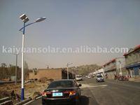 6m Pole 42W Solar LED Road Lights