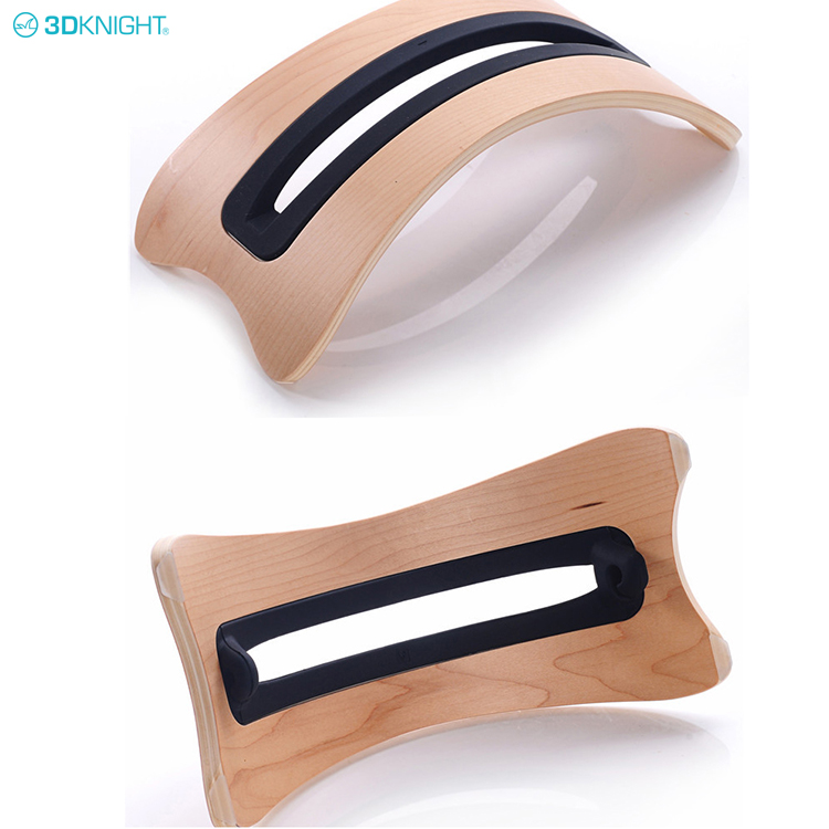 Fashion Portable Wooden Laptop Stand Notebook Holder For Tablet Pc