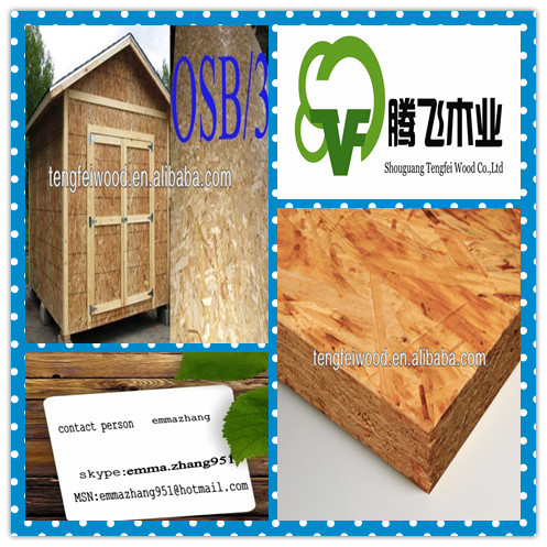 OSB3 for construction/furniture and decoration
