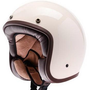 Factory Flat Sliver Motorcycle Open Face Helmet Custom Plain White