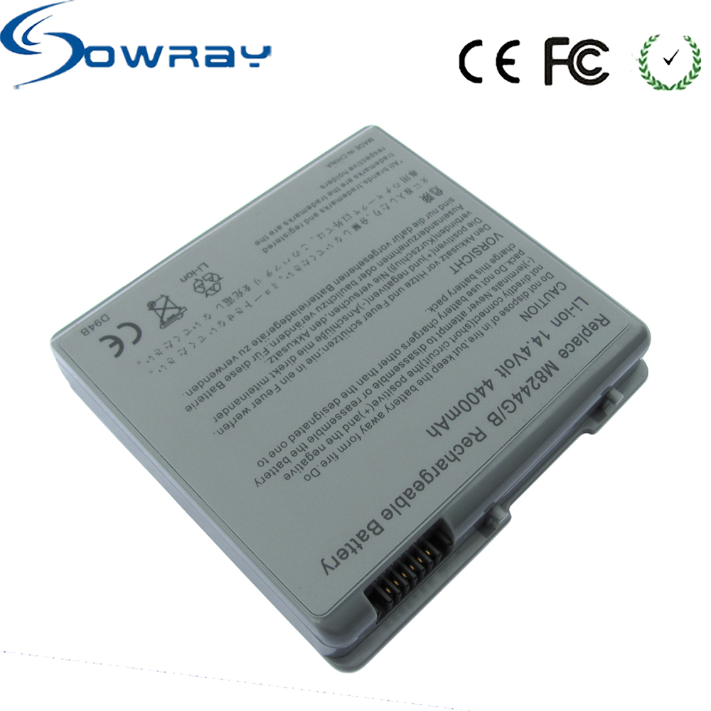 M6091 M7710J/A M7952J/A M8244 Replacementr Battery Pack For Apple PowerBook G4 15 Inch Laptop Battery