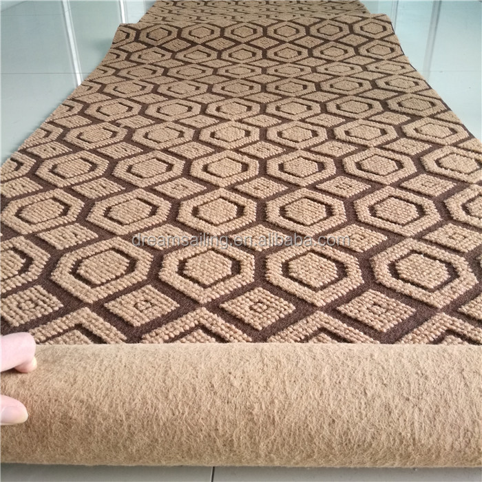 made in China needle punched Jacquard carpet