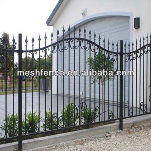 High quality galvanized ornametal fencing with competitive price in store