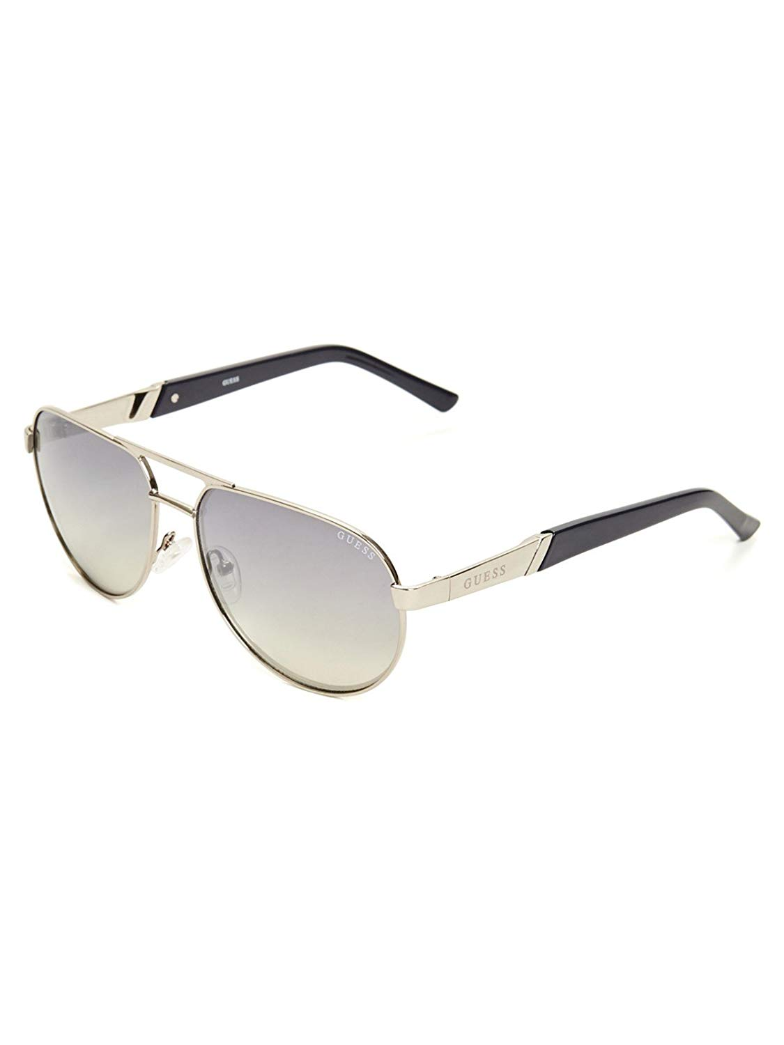 e88b54c6d3 Get Quotations · GUESS Factory Men s Metal Aviator Sunglasses