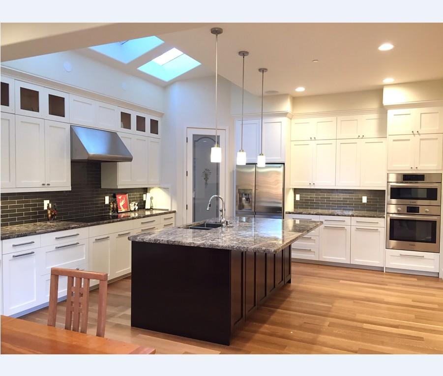 White Kitchen Cabinets 2018: 2018 Hangzhou Vermonhouse White American Kitchen Cabinets