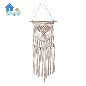 Low price simple style fine workmanship macrame wall decor