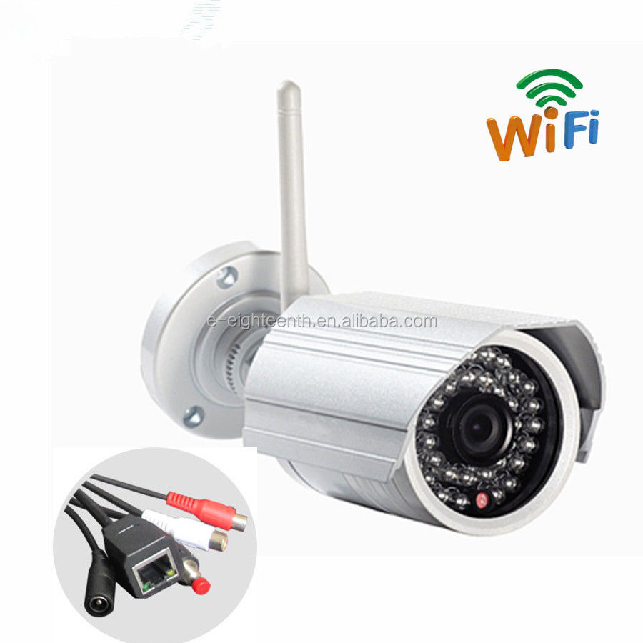 CCTV Security Wireless WIFI HD 1080P network IP Camera Outdoor Onvif sd tf card