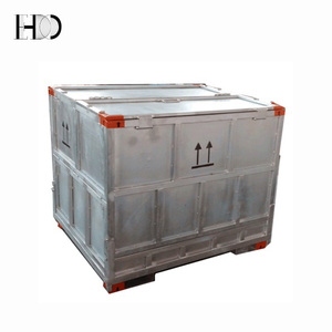 hot-dip zinced steel foldable sauces IBC tank