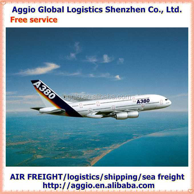 cheap air freight from China to South Africa for nail brush remover air logistics