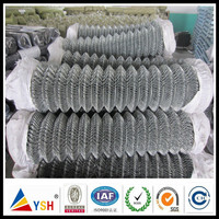 High Quality BWG8 Stainless Steel Wire Chain Link Fence/Chain Link Mesh (China Manufacturer)
