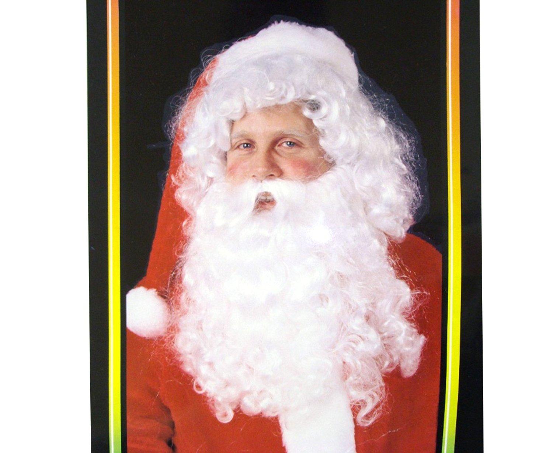 Santa Claus Costume Wig & Beard High Quality