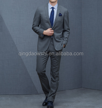 9c503effbb8 Tailored men formal suit handsome business suits Support OEM Service men  grey business suit