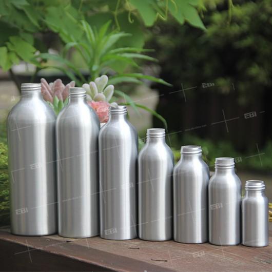 Aluminum screw bottle sizes
