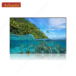Manufacturer 46 inch video wall solution 1x3 monitors system display processor