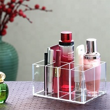 Acryl Make-Up Cosmetische Display Box Custom Met <span class=keywords><strong>Compartiment</strong></span>