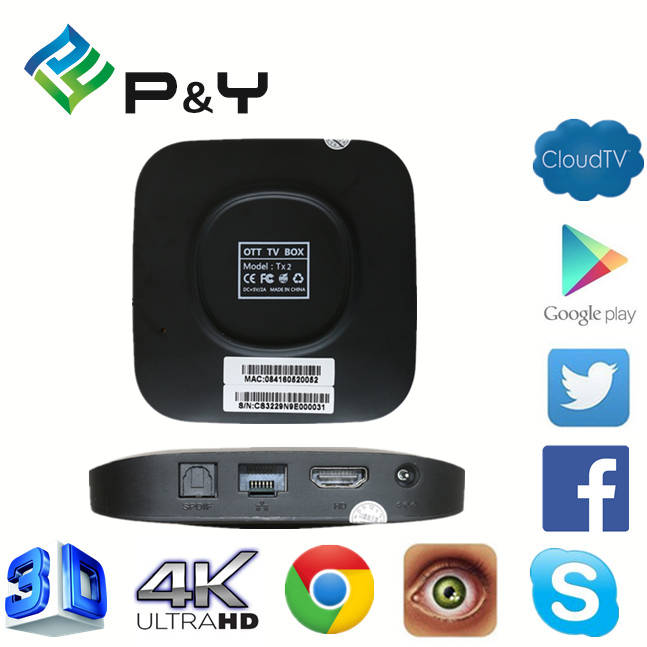 2017 Factory price TX2 RK3229 2G 8G with CE&ISO ott 6.0tv box